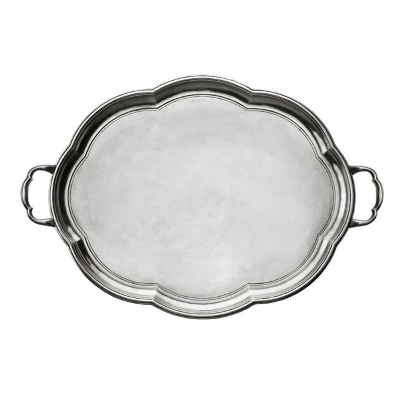 [코지타벨리니]Britannia Round Tray with Handles (CT12550)