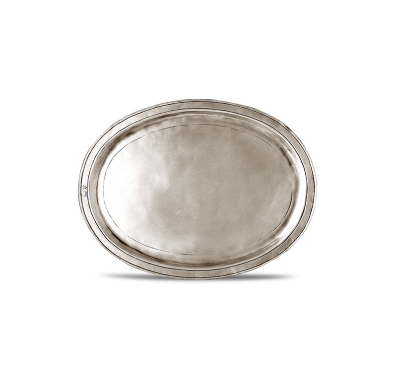 [코지타벨리니]Orvieto Oval Incised Tray Small (CT8472)