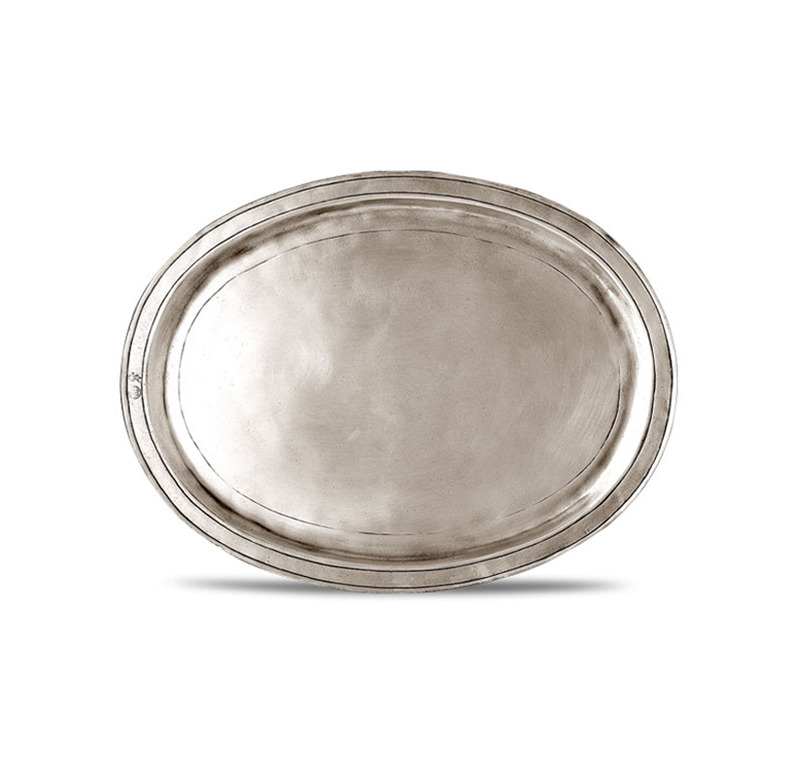 [코지타벨리니]Orvieto Oval Incised Tray Medium (CT8473)
