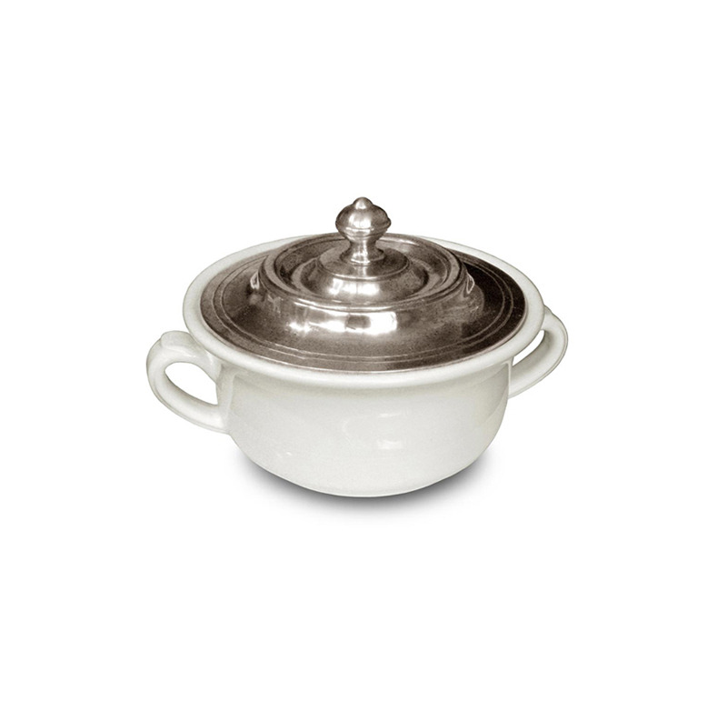 [코지타벨리니]Convivio Covered Soup Bowl (CT15400)